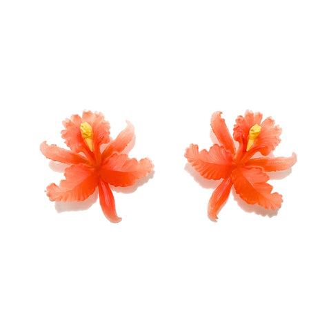 Orchid Post Earrings