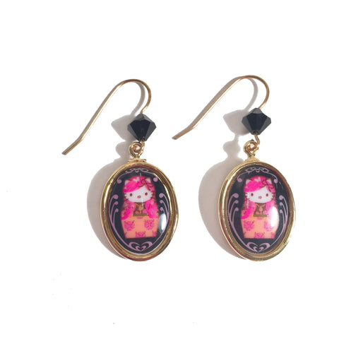 Mini Doll Earrings