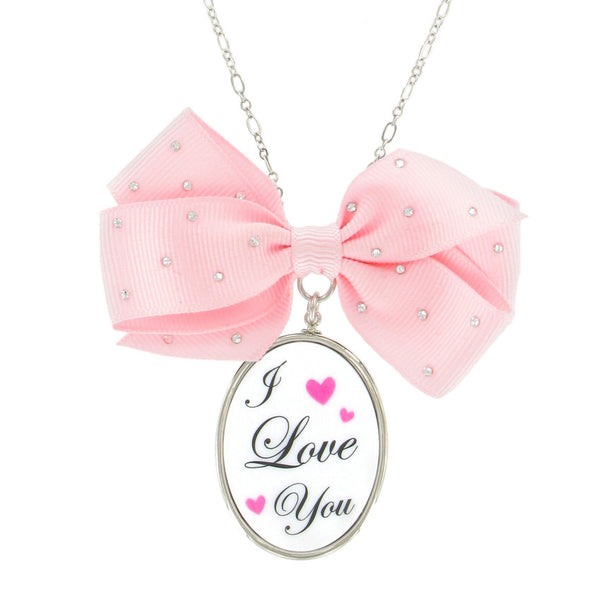 Love Bow-tie Necklace