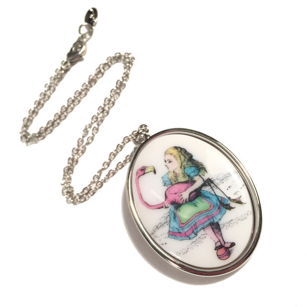 Flamingo Pendant Necklace