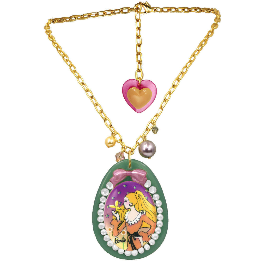 Butterfly Barbie Necklace
