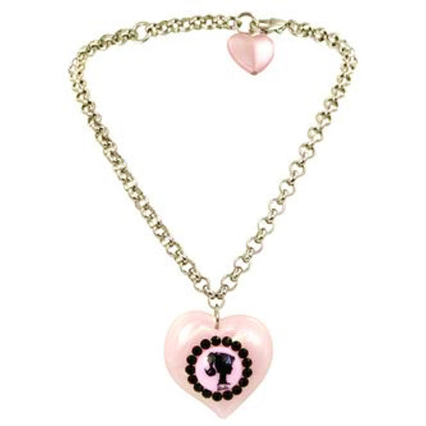 Barbie Heart Necklace