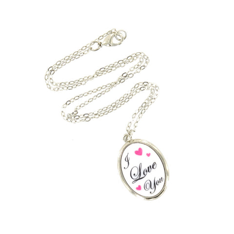"""I Love You"" Mod Pendant"