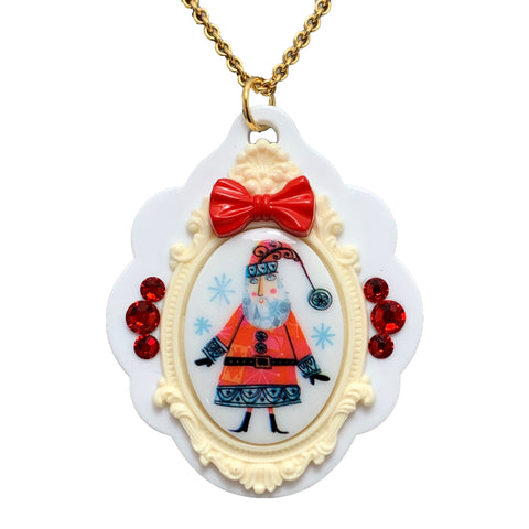 Holly Jolly Pendant