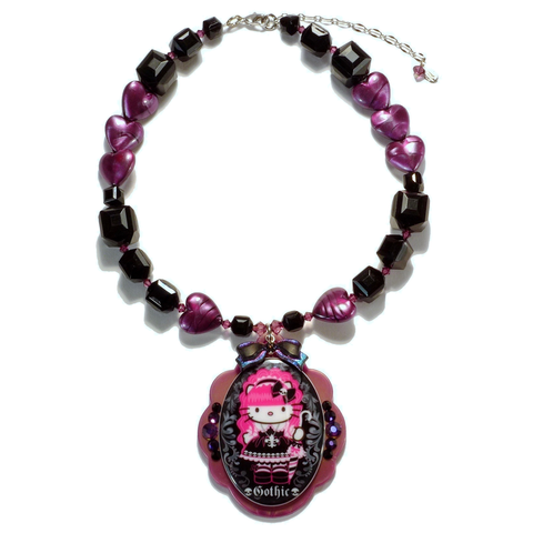 Gothic Lolita Kitty Necklace