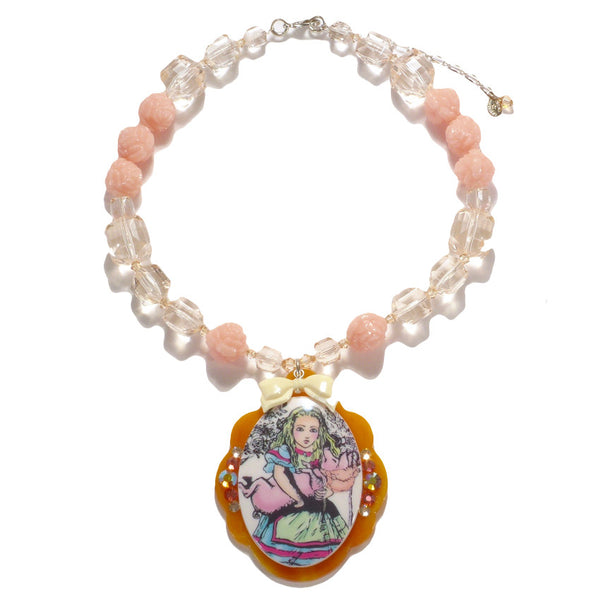 Alice Pig Baby Necklace