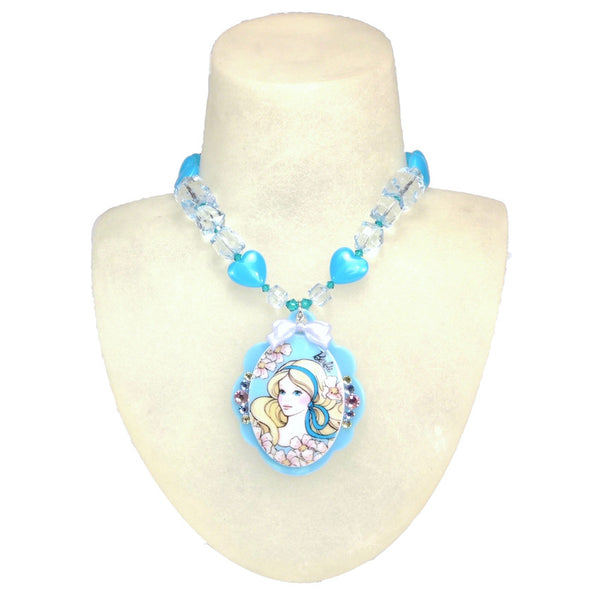 Springtime Barbie Baroque Necklace