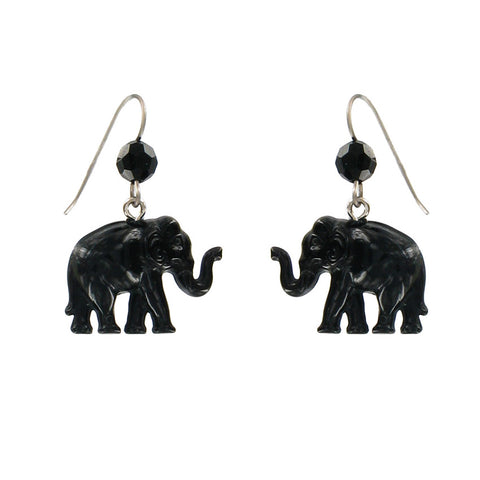 """Tiny Caravan"" Elephant Earrings"