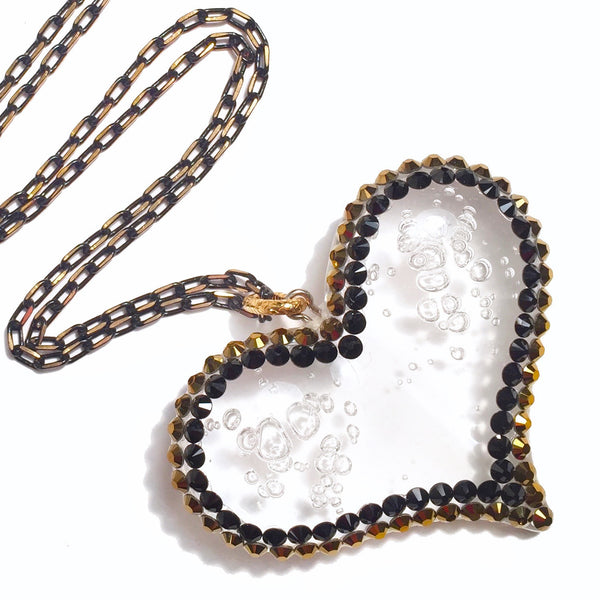 Hustle Heart Necklace