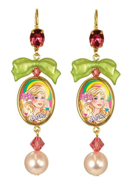 Superstar Barbie Earrings