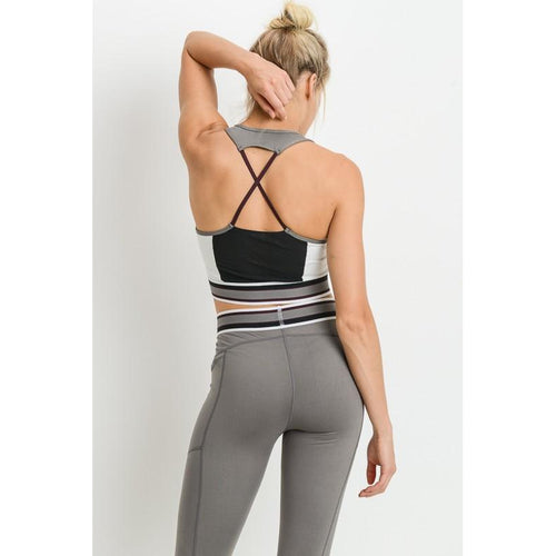 Blur the Lines Sports Bra