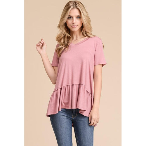 Kiss Me Top- Mauve