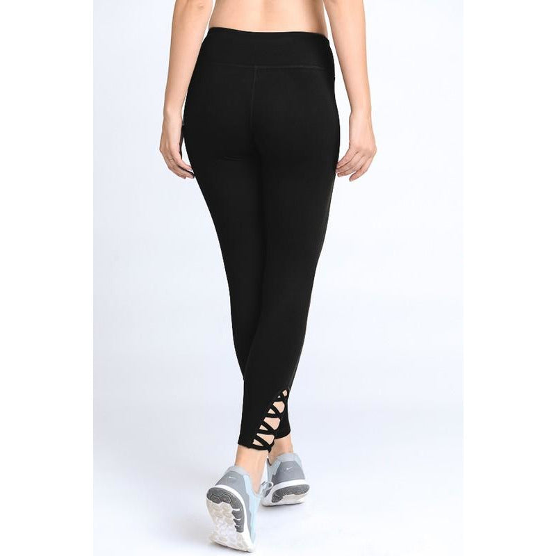 Lattice Strap Leggings