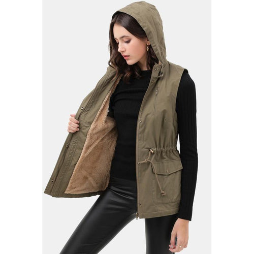 Every Day Vest- Olive