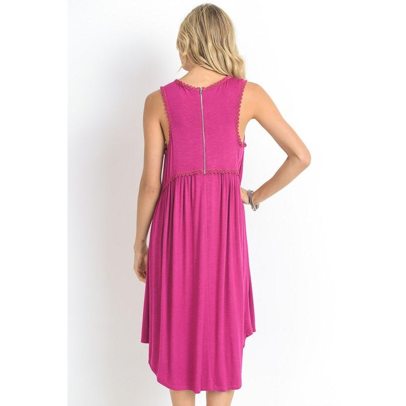 Summer Fever Dress- Fushia