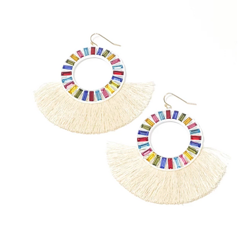 Kiki Earrings Rainbow