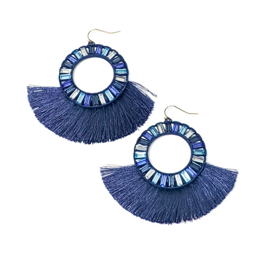 Kiki Earrings Navy