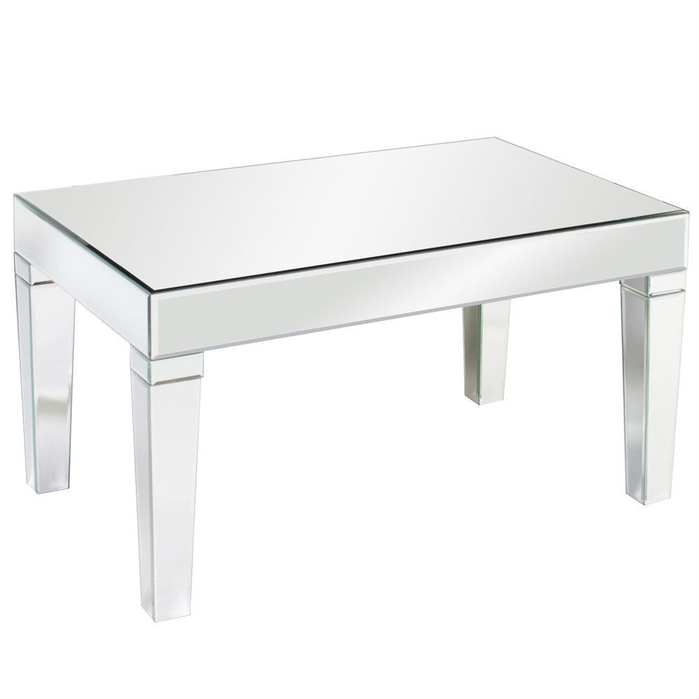 Mirror coffee table square - Mirrored Coffee Table