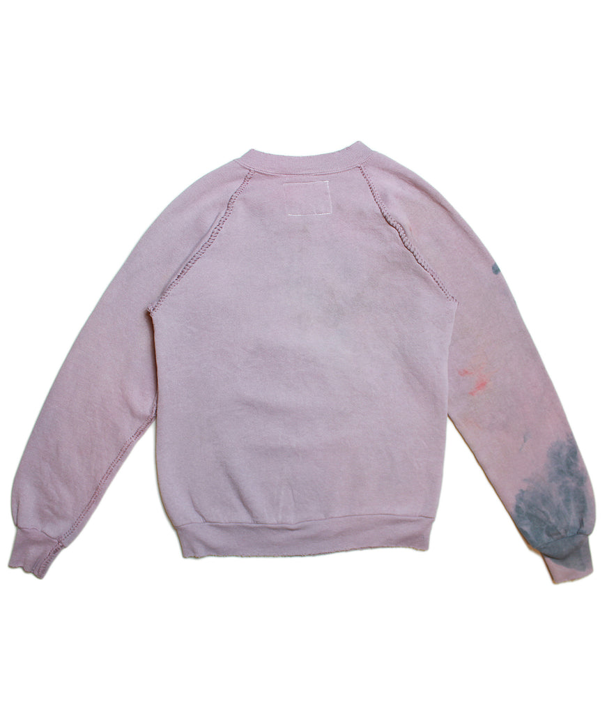 MICKEY MOUSE 'PURPLE TIE-DYE' VINTAGE SWEATSHIRT/ S