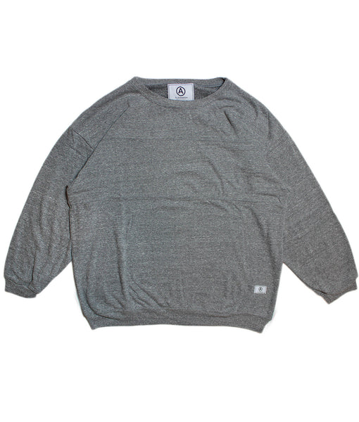 U.S ALTERATION '3 PANEL' SWEATSHIRT/ HEATHER GREY/ L