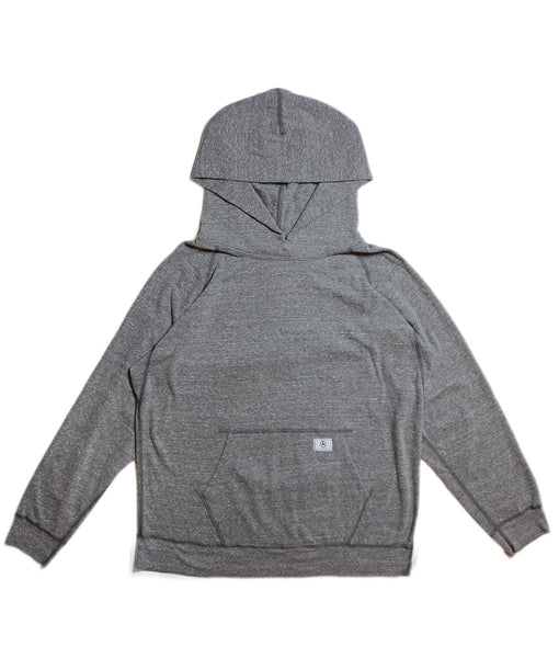 U.S ALTERATION BASIC HOODIE/ HEATHER GREY/ L