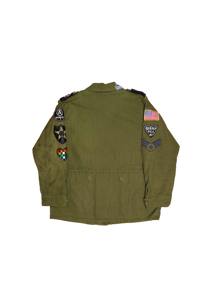 ANTHRAX // MILITARY JACKET
