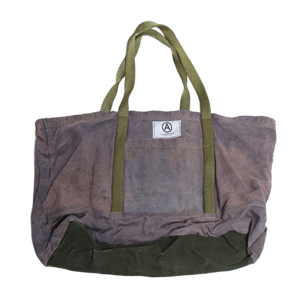 VINTAGE RECYCLED CANVAS TOTE