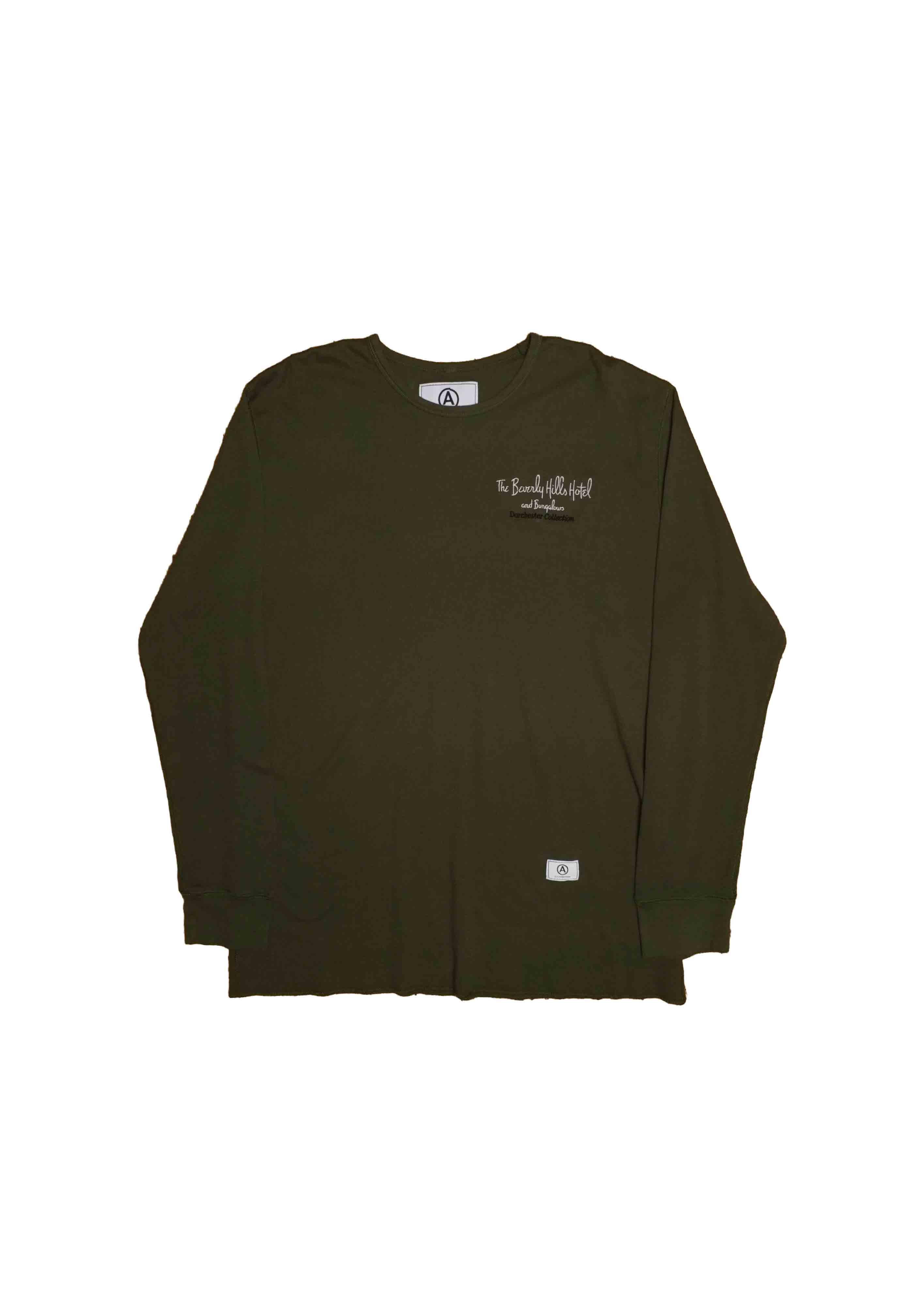 BEVERLY HILLS HOTEL // THERMAL MILITARY LONGSLEEVE