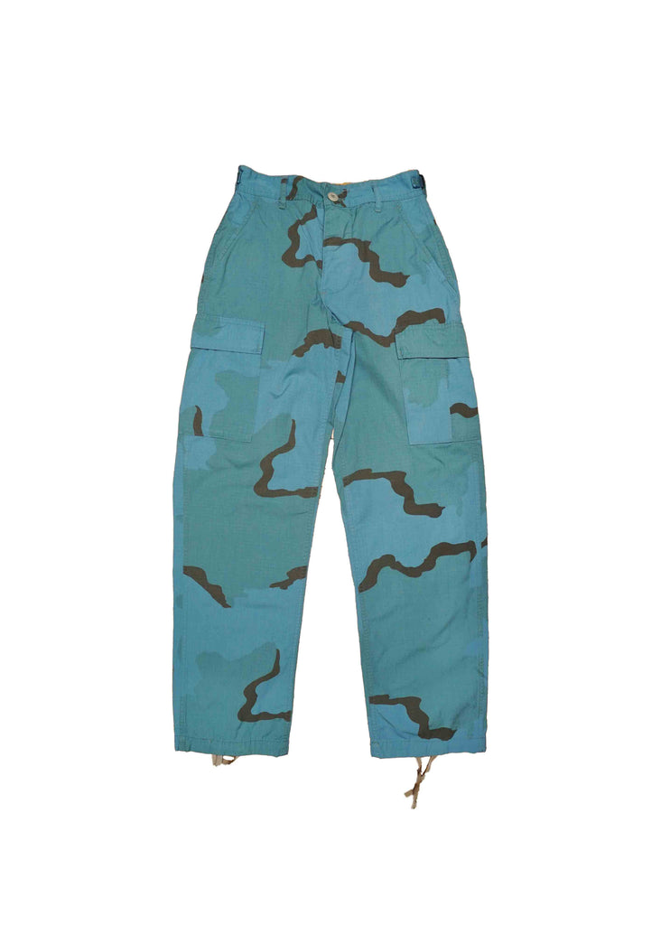 US ALTERATION// BLUE CAMO PANT