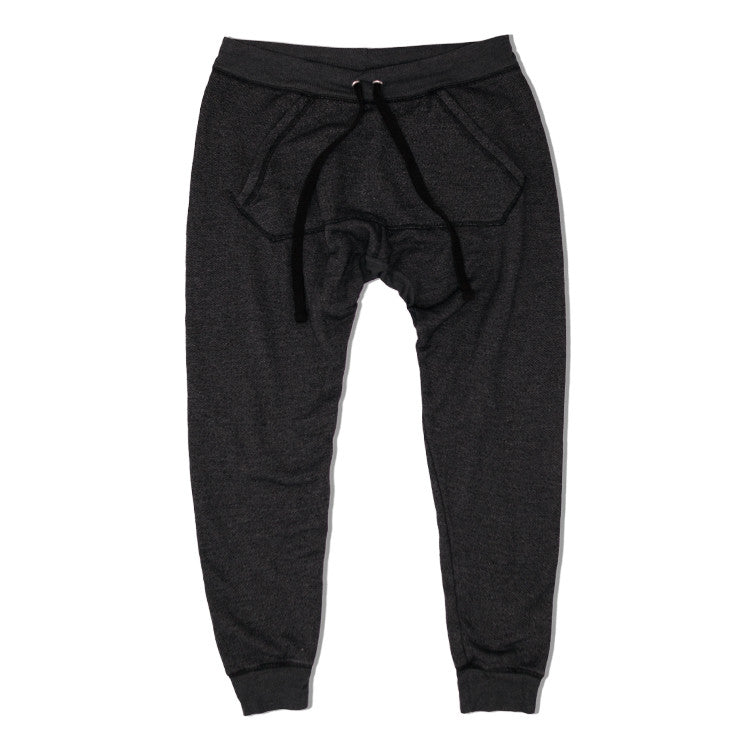 U.S. ALTERATION /  UNISEX /BLACK / SWEATPANT