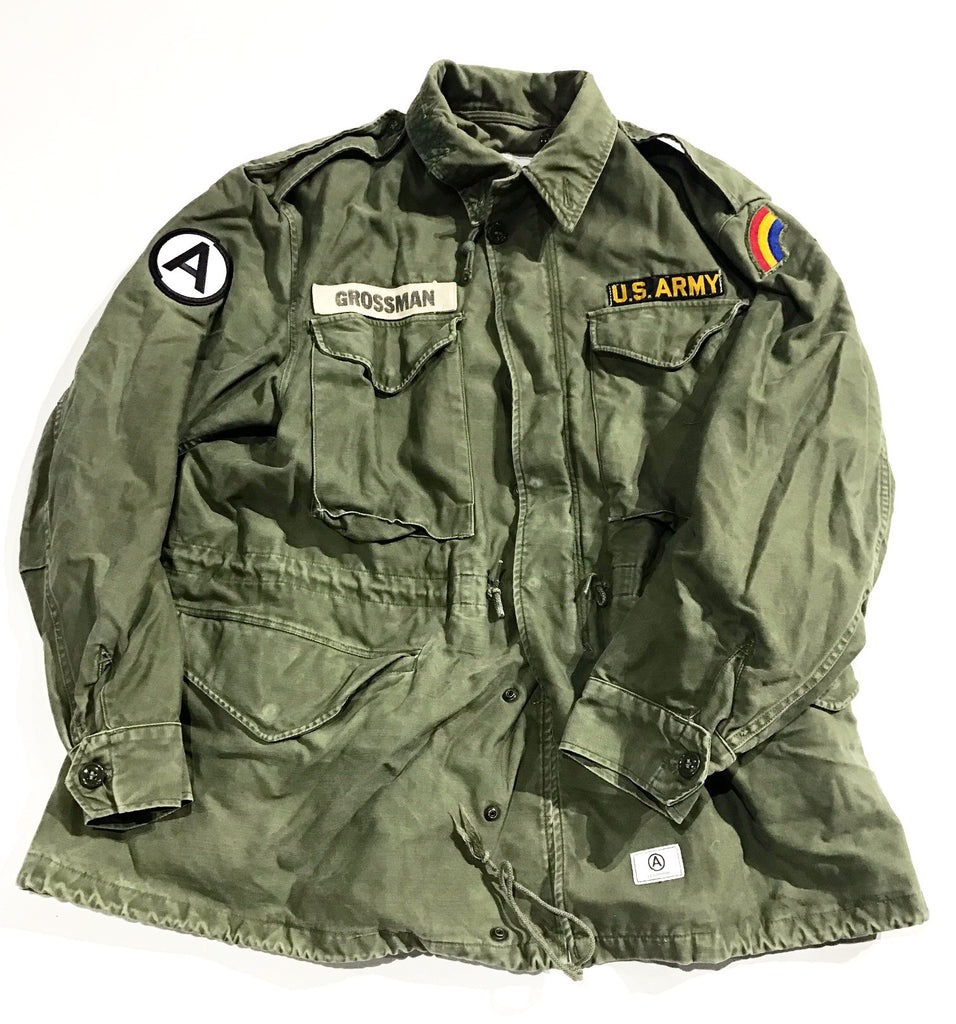 VINTAGE MILITARY   M   FIELD JACKET ODG