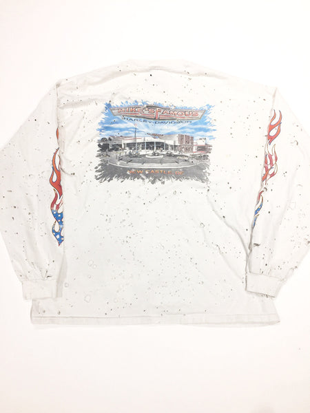 VINTAGE  LONG SLEEVE HARLEY