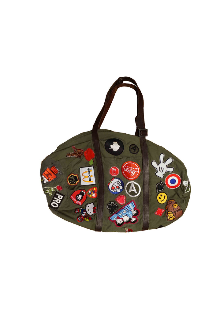 MILITARY TOTE WITH LEICA PATCHES