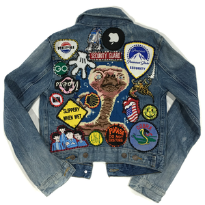 CUSTOM // DENIM JACKET WITH PATCHES