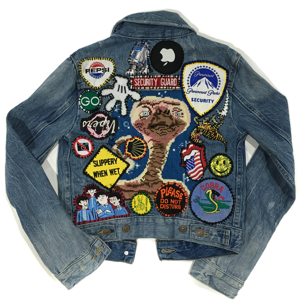 Custom Levi's Women Denim Jacket
