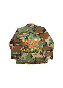 US ALTERATION // MILITARY JACKET