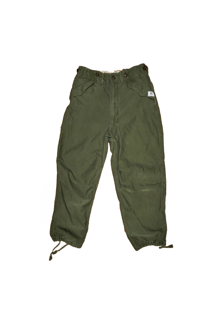 US ALTERATION// CARGO MILITARY PANT