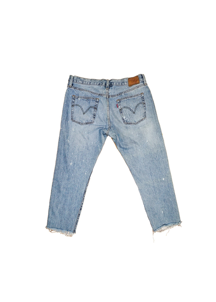 US ALTERATION// DISTRESSED LEVIS