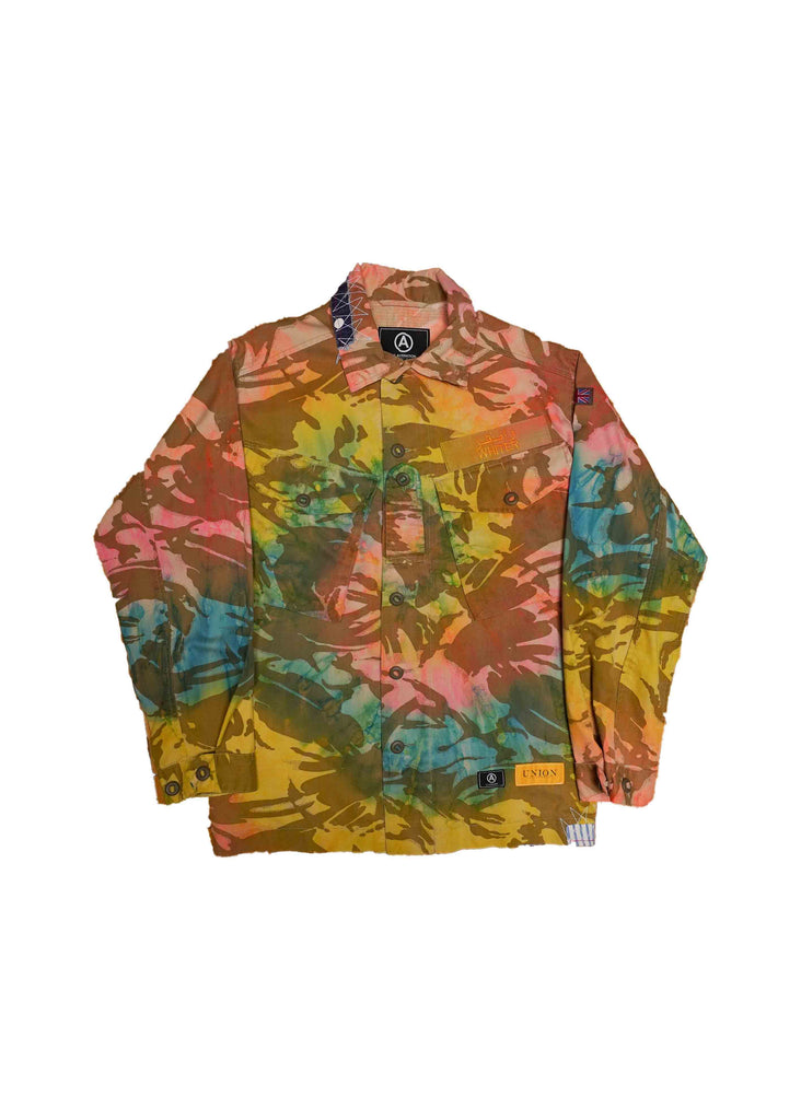 US ALTERATION X UNION COLLAB JACKET // PASTEL TIE DYE