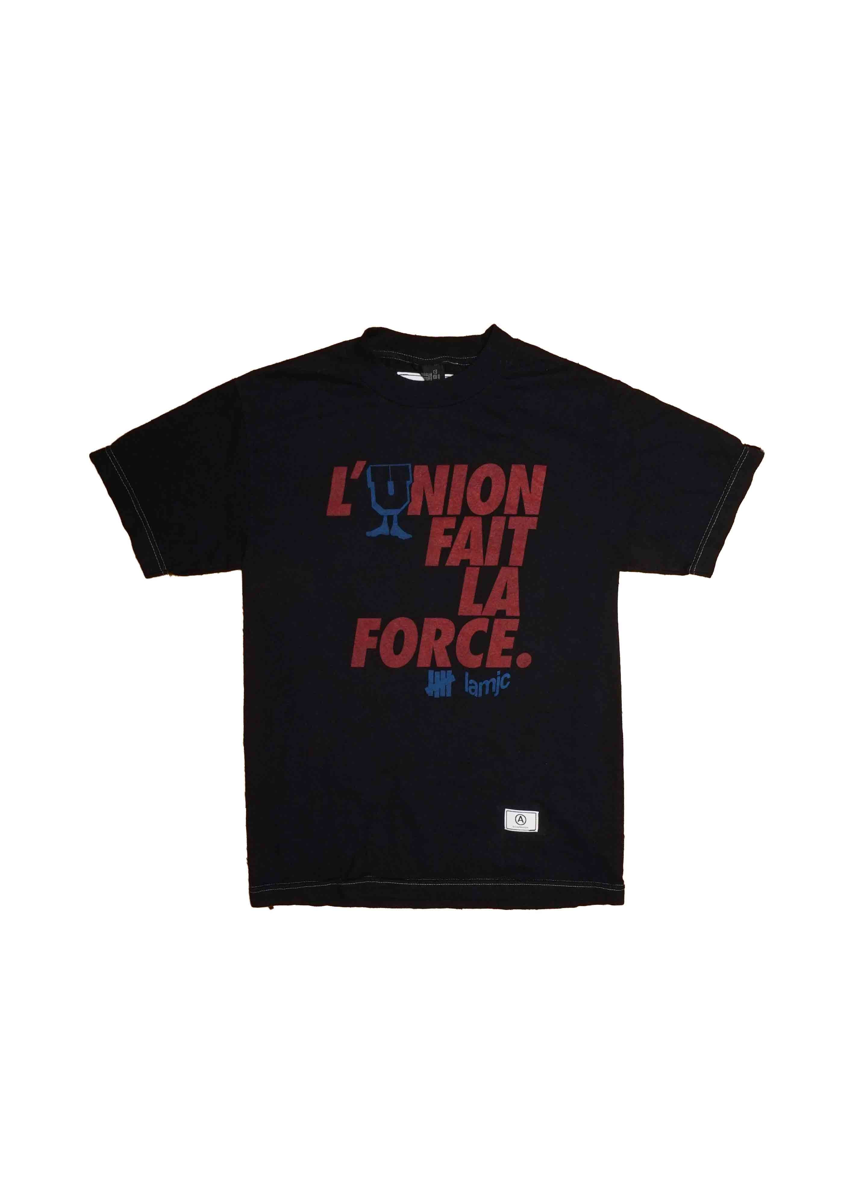 "VINTAGE // L'UNION FAIT // over-dyed / / UNDEFEATED for ""COLETTE "" paris // lamjc // TEE"