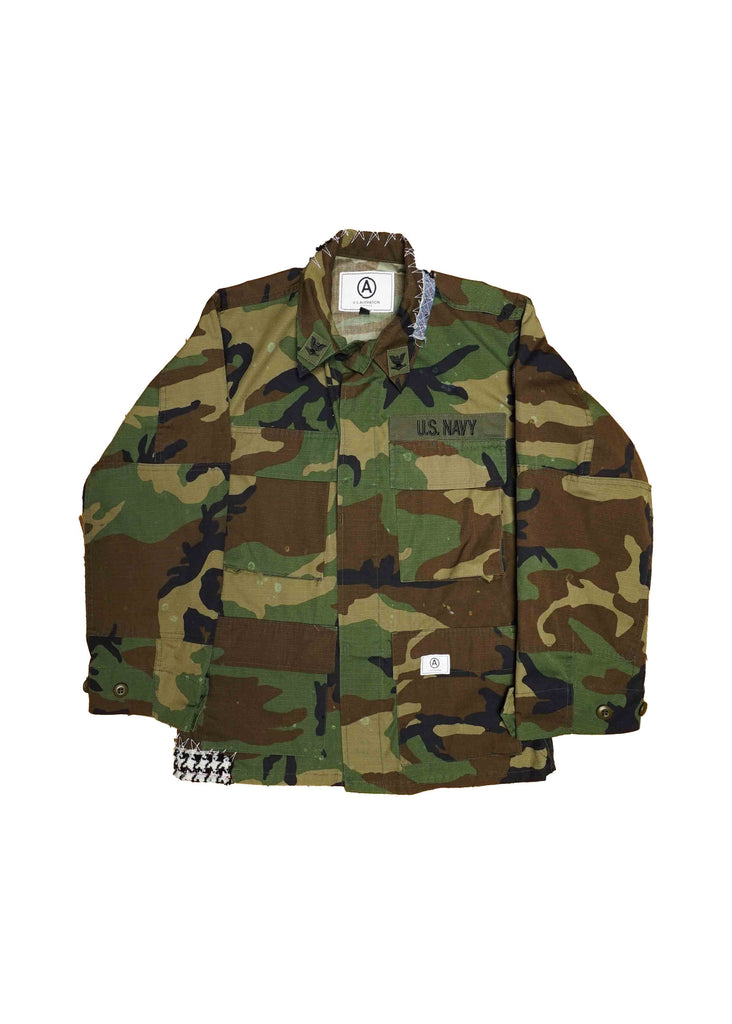 US NAVY // CAMO JACKET
