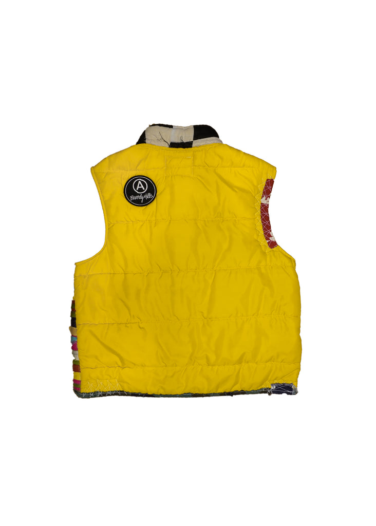 US ALTERATION // YELLOW PUFFER VEST