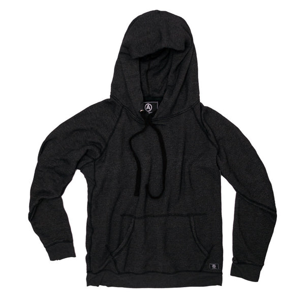 U.S. ALTERATION BLACK PULLOVER HOODIE