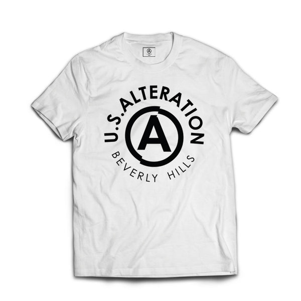 U.S. ALTERATION B.H  LOGO TEE