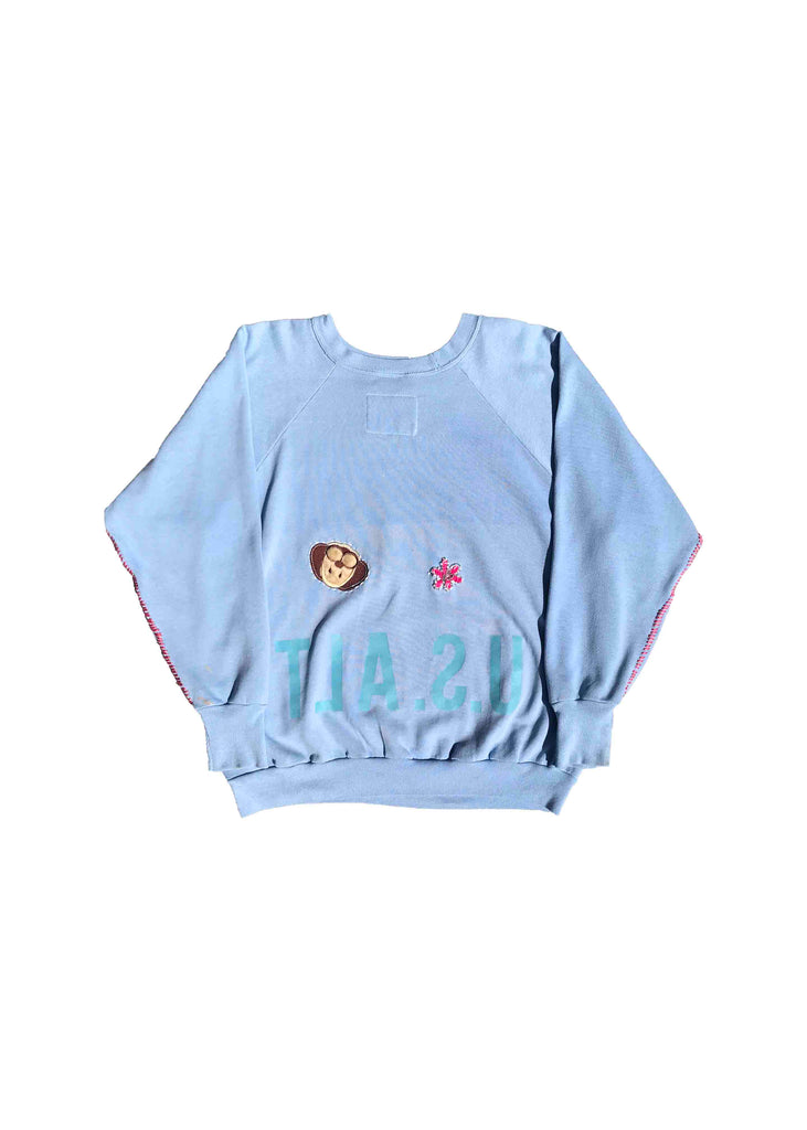 COCA COLA // BABY BLUE CREW NECK