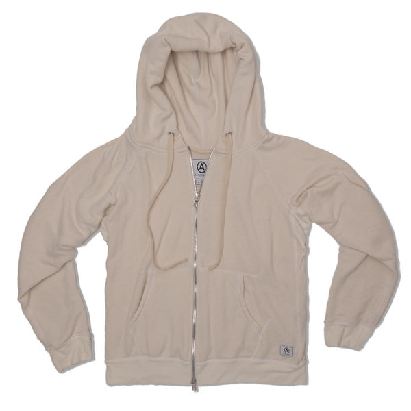 U.S. ALTERATION   NATURAL ZIP UP HOODIE