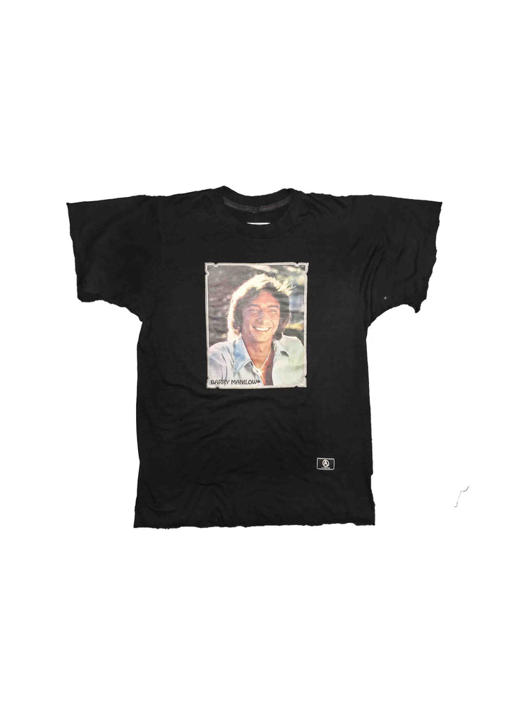 VINTAGE FACE HEAT TRANSFER / BARRY MANILOW