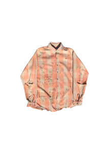 VINTAGE SCREEN PRINT // PEACH FLANNEL