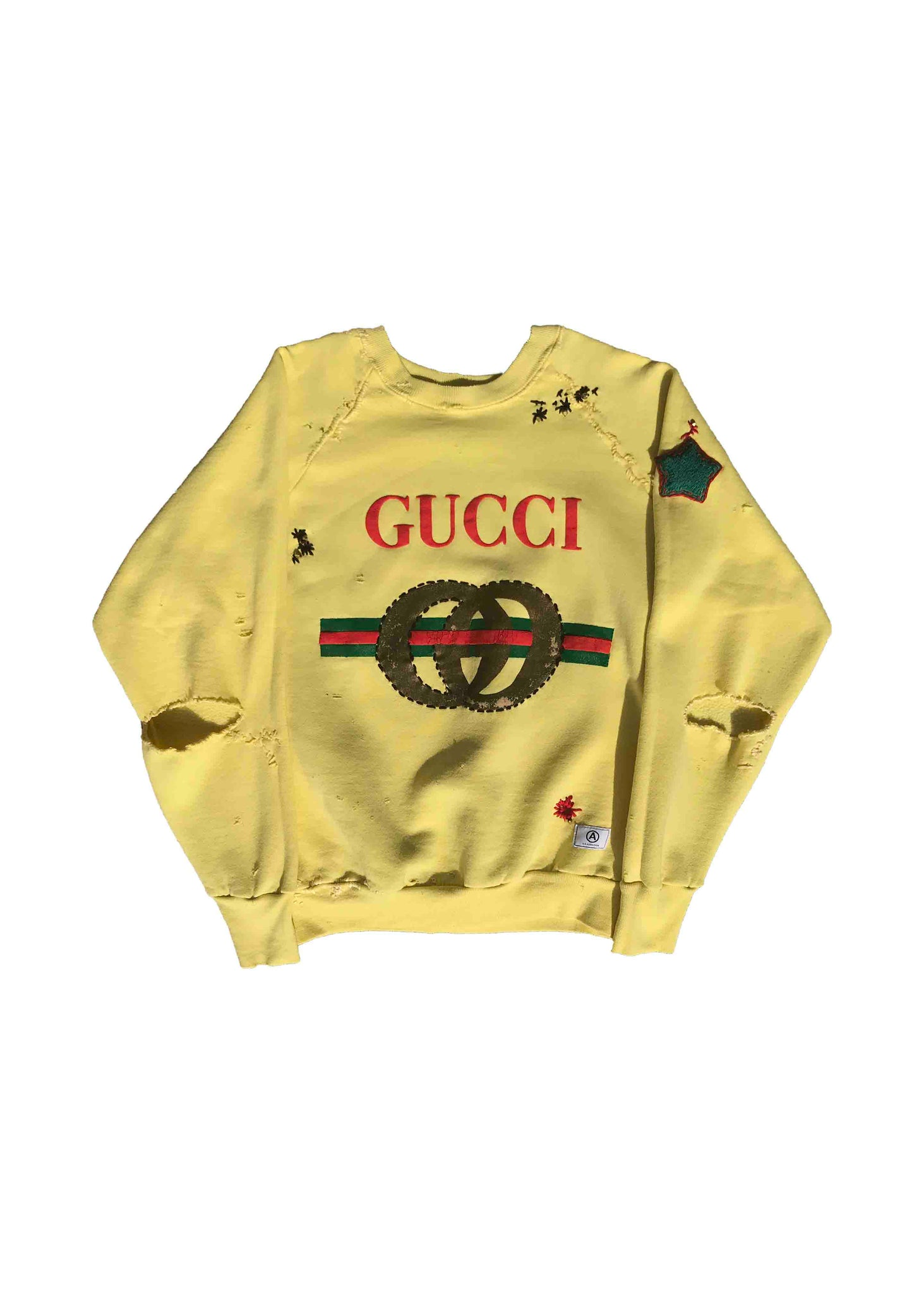 GUCCI // WITH HAND STITCHING DETAIL
