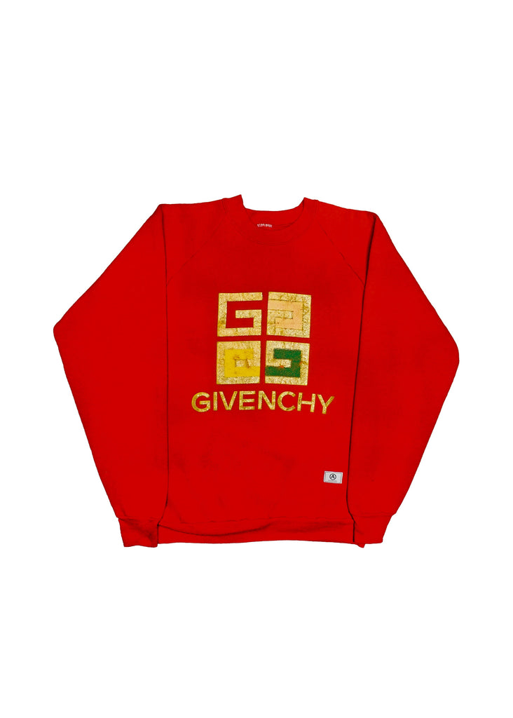 GIVENCHY  // US ALTERATION RED CREW NECK